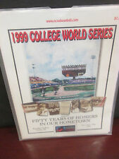 NCAA-1999 COLLEGE WORLD SERIES- 50 YEARS IN OMAHA- OFFICIAL PROGRAM