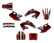 2000 2001 CR 125 250 Graphics CR125R CR250R deco kit #2500 Red