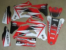 FLU PTS2  WHITE/RED GRAPHICS YAMAHA YZ250F YZ450F YZF250 YZF450   2006  2007
