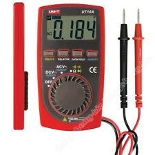 Uni-T UT10A Pocket Digital LCD Multimeter Ohm Voltmeter