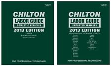 1990-2013 Chilton Labor Time Estimating Shop Flat Rate Guide Manual Book 2931