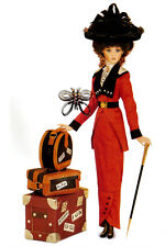 """JAN MCLEAN """"MOLLY BROWN"""" With Luggage Doll. NIB. 21in RARE!!!!!!!!!!!!!!!"""