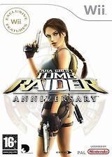 Tomb Raider - Anniversary For PAL Wii (New & Sealed)
