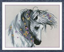"Counted Cross Stitch Kit OVEN - ""Playful Horse"""