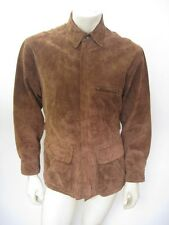 POLO RALPH LAUREN 1930s-Style Suede Leather Motorcycle Jacket Size SMALL