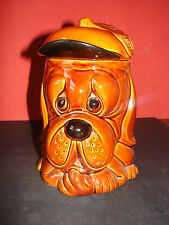 Vintage P & K Price Kensington Dog Biscuit Barrel