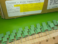 [50 pcs] Vishay-Roederstein Film Capacitors MKT1826 0.47uF(470nF) 63V pitch=5mm
