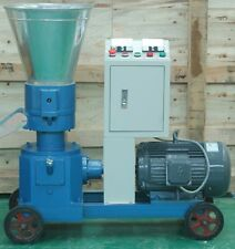 PELLET MILL 7.5kw 10HP ELECTRIC ENGINE PELLET PRESS 3 PHASE
