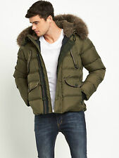 Superdry Chinook Mens Parka - Khaki size extra small bnwot