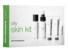 DERMALOGICA Oily Skin Kit: Cleanser /Toner//Lotion/Scrub/Total Eye Care FRESH