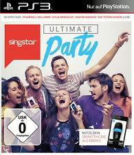 PS3 - GAME - SingStar: Ultimate Party ++neu und ovp+