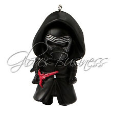 Star Wars The Force Awakens Kylo Ren Mask Metal Pendant Key Ring Chain