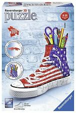 Ravensburger 3D-Puzzle 12549 - Sneaker American Style, 108-teilig  - NEU