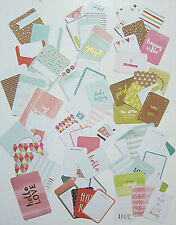 "PROJECT LIFE ""Becky Higgins""  [LITTLE MOMENTS]  Core Kit Cards  (70 cards)"