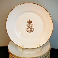 Sevres Napoleon III Dinner Plate (s) Marked From Chateau Des Tuileries Palace