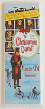 A Christmas Carol (1951) FRIDGE MAGNET (1.5 x 4.5 inches) insert movie poster