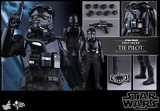 HOT TOYS MMS234 STAR WARS FIRST ORDER TIE FIGHTER PILOT New MIB 1/6 SCALE