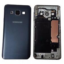 cover posteriore piastra metallica For Samsung A3 SM-A300FU blu