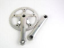 """Campagnolo C Record Pista Crankset 165mm Track Bike NOS 49T 1/8"""" Chainring"""