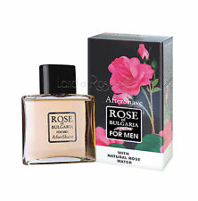 ROSE OF BULGARIA AFTERSHAVE 100ML WITH BULGARIAN ROSE WATER