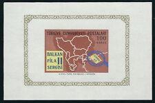 Türkei - Briefmarkenausstellung Balkanfila II postfrisch 1966 Block 12 Mi. 2014