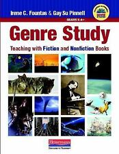 Genre Study: Teaching with Fiction and Nonfiction Books, Pinnell, Gay Su, Founta