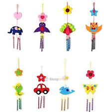 Kid Child Handmade DIY 3D Wind Chime School Crafts Kit Educational Toy Xmas Gift