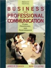 Business and Professional Communication: Plans, Processes, and Performance (2nd