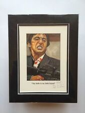 "Scarface  Limited Edition ~ ""Say hello to my little friend"" By Patrick J Killian"
