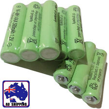 3x Ni-MH 1.2V 500mAh AAA Rechargeable Battery Batteries Cell Green EYBA43007x3