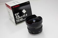 Canon EF 15mm f/2.8 Fish-eye Lens