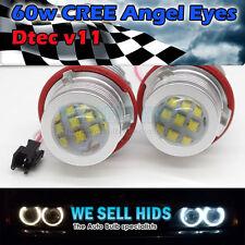 Último DTEC 60W CREE Angel Eyes 12 LED Blanco 6500K E60 E65 E53 X5 E39 serie 7