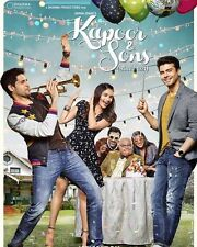 Kapoor and Sons (2016) - Sidharth Malhotra, Fawad - bollywood hindi movie  dvd