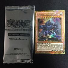 YUGIOH SEALED Obelisk The Tormentor Movie Promo MVPC-EN001 Gold Limited Edition