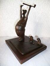 Bronze Statue Figur Skulptur Golfspieler Golfer Tiger N. Chan sign.  Art & Golf