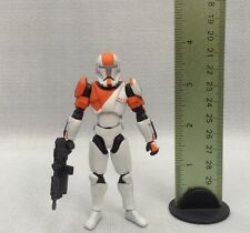 "Custom 1/18 Microman Clone Republic Commando RC Leader Boss Star wars 4"" Figure"