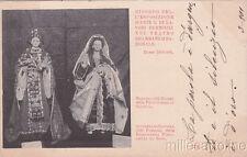 * ROMA - Esposizione d'Arte 1899, Bambole - Marozia e Giuditta di Baviera