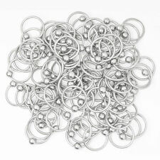 "Wholesale Lot of 100pc Captive bead ring cbr-14g 1/2"" 316L Surgical Steel"