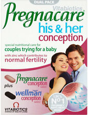 Vitabiotics Pregnacare His & Her Conception (60) **Dual Pack**
