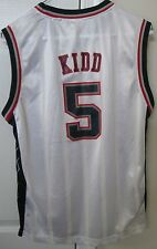 NBA New York Nets Jason Kidd #5 Jersey Large (14-16) by Reebok