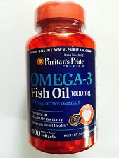 OMEGA 3 FISH OIL 100 x 1000MG FOR HEART AND BONE HEALTH OSTEOARTHRITIS FREE POST