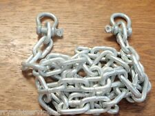 "ANCHOR CHAIN GALVANIZED WITH SHACKLES 3/16"" X 4FT 44101 SEACHOICE BOATINGMALL"