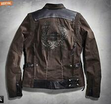 "HARLEY-DAVIDSON GENUINE ""TRIPLE VENT"" WOMEN'S SIZE 2XL JACKET NEW WITH TAGS"
