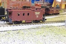 ALGOMA CENTRAL REAR COUP # 13021 N-Scale Custom Painted Caboose