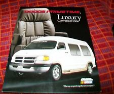 DODGE G LAVAL PRIMETIME LUXURY CONVERSION UNITS. March 2000  USA