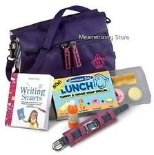 Pleasant Company American Girl Today REVERSIBLE SCHOOL BAG & LUNCH SET in Box