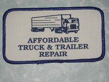 """Affordable Truck & Trailer Repair Patch - vintage - 4 1/2"""" x 2 1/2"""""""
