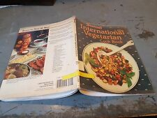 US Army Bibliotheksbestand- Sunset international vegetarian cook book 0376029218