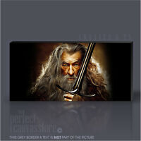 LORD OF THE RINGS GANDALF STUNNING GIANT ICONIC CANVAS ART PRINT - Art Williams