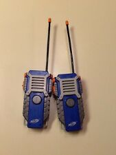 NERF Walkie Talkie Radio Set 2 Hasbro w/ Belt Clip 1000ft Range Series